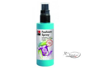 Fashion Spray Marabu 100 ml - 091 Karibská modrá