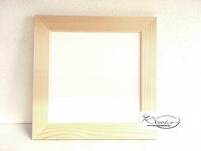 Rámeček dřevo 16x16x2,5 cm