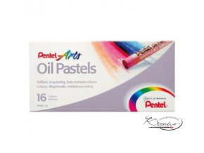 Pentel Arts Oil Pastels 16