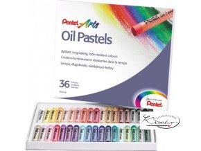 Pentel Arts Oil Pastels 36
