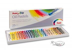 Pentel Arts Oil Pastels 25