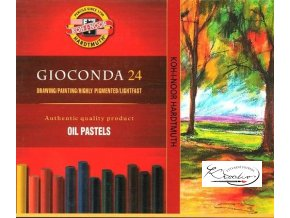 Gioconda 24 Oil Pastels