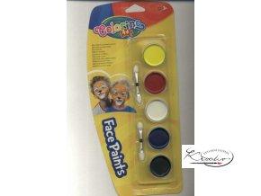 Barvy na obličej - Colorino Kids