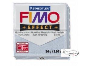 Fimo hmota Effect Glitter - 812 Stříbrná