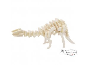 Dřevěná skládačka 3D puzzle - Apatosaurus