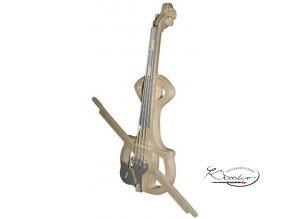 Dřevěná skládačka 3D puzzle - Violin