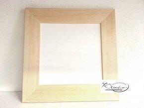 Rámeček dřevo 16x16x4cm