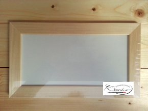 Rámeček dřevo 12x24x2,5cm