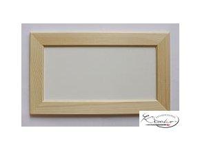 Rámeček dřevo 16x32x4cm