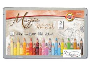 Magic Souprava barevných tužek 23+1