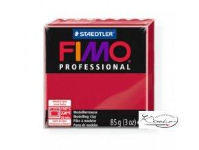Fimo Professional 85g 29 karmínová