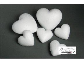 Srdce polystyren 6cm