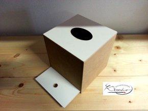 Box na kapesníky kostka