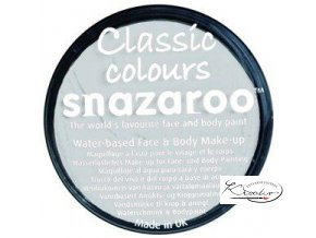 Barva na obličej Snazaroo 18ml - 000 Bílá