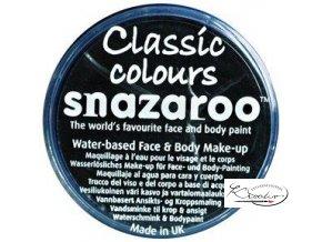 Barva na obličej Snazaroo 18ml - 111 Černá