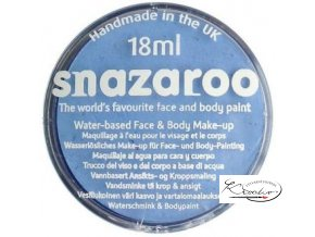 Barva na obličej Snazaroo 18ml - 366 Modrá světlá
