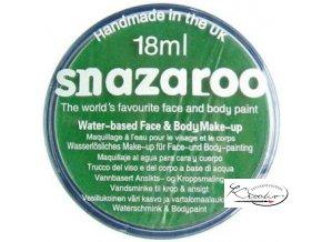 Barva na obličej Snazaroo 18ml - 444 Zelená jasná