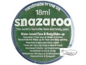 Barva na obličej Snazaroo 18ml - 477 Zelená tmavší