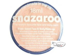 Barva na obličej Snazaroo 18ml - 500 Béžová světlá