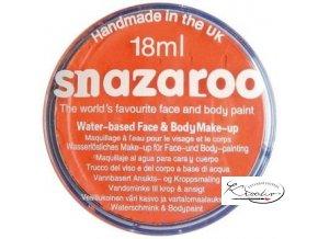 Barva na obličej Snazaroo 18ml - 553 Oranžová