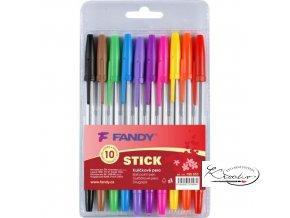 Kuličkové pero Stick 10