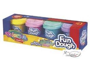 Fun Dough - modelovací hmota - Glitter Pastel