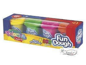 Fun Dough - modelovací hmota - Neon Colors