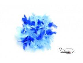 Peříčka 2g - Modrý mix