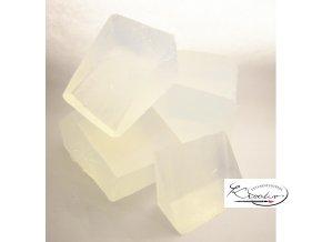 Mýdlová hmota Crystal prisavon 500g
