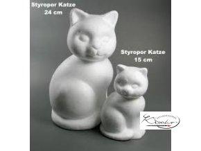 Polystyren Kočka 24 cm