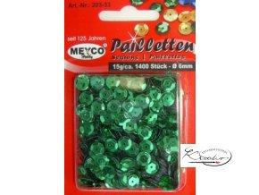 Flitry 6 mm - Zelené