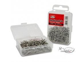 Špendlíky stříbrné 13 mm