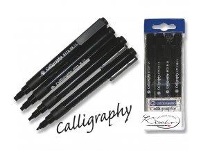 Popisovač kaligrafický 8772/4 černý