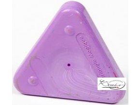 Vosková pastelka Triangle Magique Basic- fialová