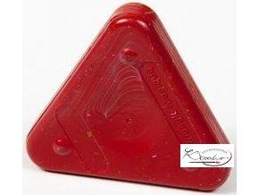 Vosková pastelka Triangle Magique Basic - hnědá