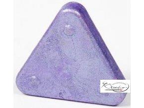 Vosková pastelka Triangle Magique Metallic - fialová