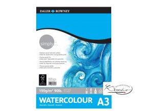 Blok Simply Watercolour A3