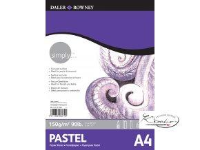 Blok Simply Pastel A4