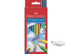 Pastelky Junior Jumbo 20 ks