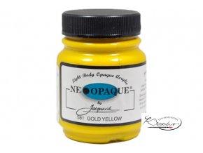Neopaque Jacquard 67 ml - 581 Zlatožlutá