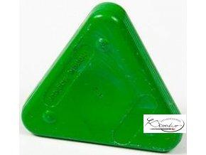 Vosková pastelka Triangle Magique Basic - zelená