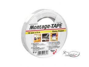 Montážní páska - bílá