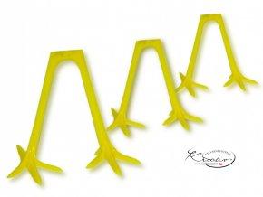 Plastové kuřecí nohy 31 mm