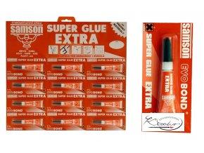 Vteřinové lepidlo Super Extra 3g