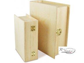 Dřevěná krabička 34631 14x11x5 cm