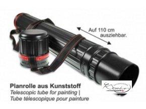 Tubus plastový teleskopický