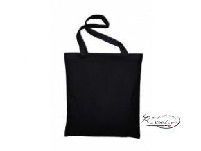 Taška bavlněná 42 x 38 cm -  Černá