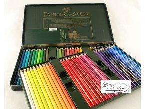Umělecké pastelky Faber-Castell Polychromos 60 ks