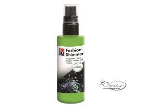 Fashion Spray Shimmer Marabu 100 ml - 560 Třpytivá Reseda