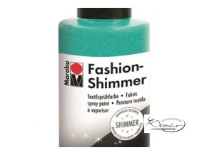 Fashion Spray Shimmer Marabu 100 ml - 599 Třpytivá Akvamarínová